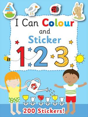 I Can Colour - My First Numbers by