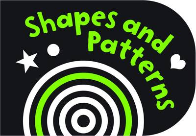 Black and White Shapes and Patterns Chunky Board Book by Holly Brook-Piper