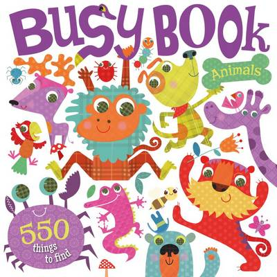 Busy Book Animal Antics by