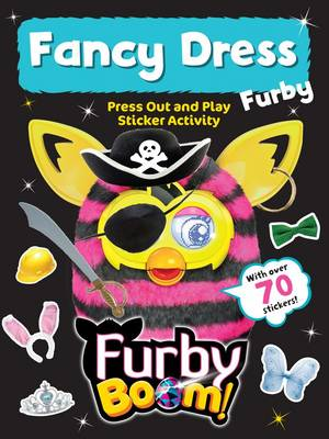 Funny Furby Press out and Play by Hasbro