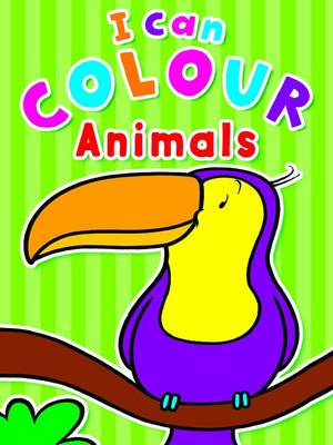 I Can Colour Animals by Gemma Cooper