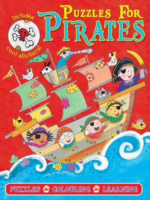 Pirate Puzzles Red by Gem Cooper