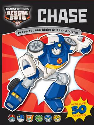 Chase (Blue) Rescuebots by Carly Blake