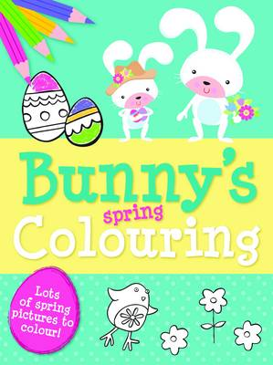 Spring Colouring Bunny by