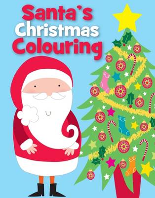Christmas Colouring Santa by