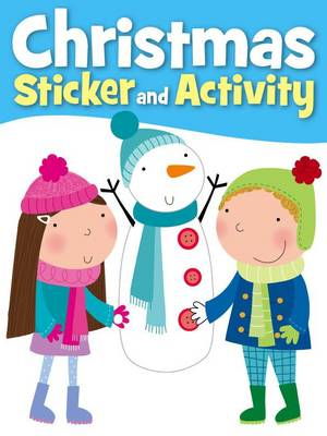 Snowman Christmas Sticker Activity by
