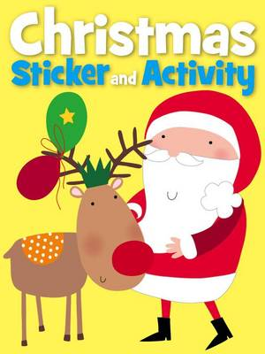 Christmas Sticker Activity - Rudolph's Red Nose by