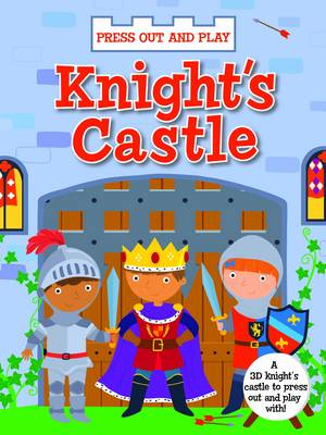 My Press Out and Play Book Knight's Castle by
