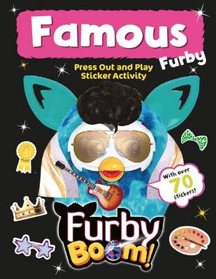 Furby Boom Famous Furby Press Out and Play by