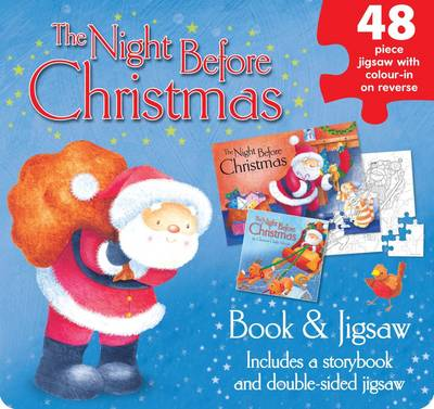 The Night Before Christmas Jigsaw Set by
