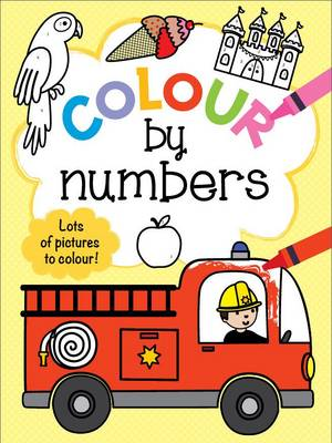 Colour by Numbers 3+ Yellow by
