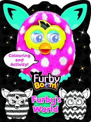 Furby Boom Colouring Book Furby's World by Hasbro