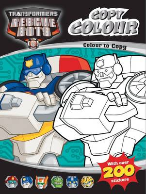 Transformers : Rescue Bots Colour to Copy by Hasbro