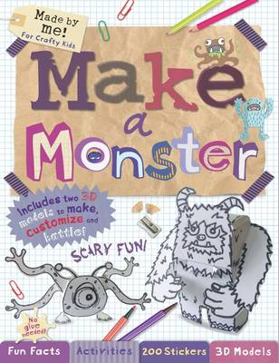 Made by Me! Design a Monster by Autumn Publishing Inc.
