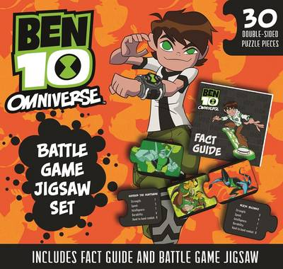 Ben 10 Book and Jigsaw by Inc. Time Warner