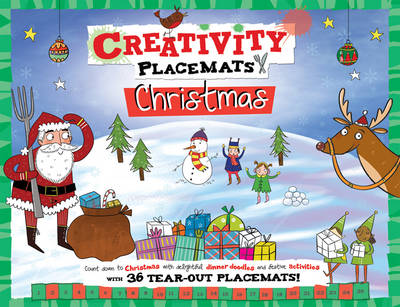 Creativity Placemats Christmas Count Down to Christmas with 36 Tear-Out Placemats by Gemma Barder