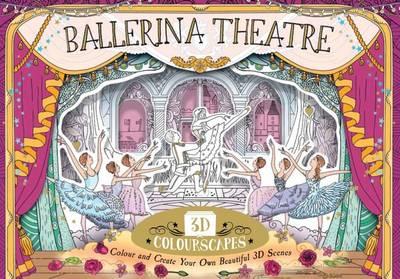 3D Colourscape Ballerina Theatre by Anna Brett