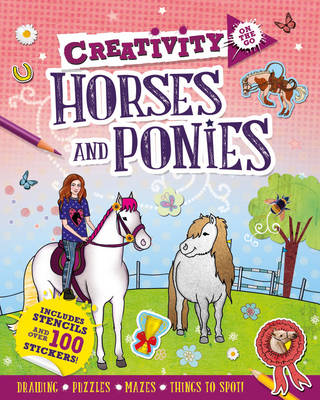 Creativity on the Go: Horses and Ponies by Andrea Pinnington