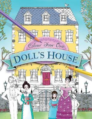 Colour Your Own Doll's House by Adrian Besley