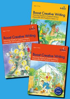 Boost Creative Writing pack Planning Sheets to Support Writers (Especially SEN Pupils) in KS2 by Judith Thornby