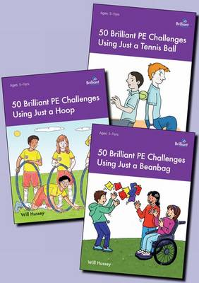 50 Brilliant PE Challenges with Just a ... Series Pack by Will Hussey