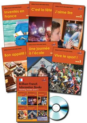 Brilliant French Information Books Pack A Graded French Non-Fiction Reading Scheme for Primary Schools by Daniele Bourdais, Sue Finnie