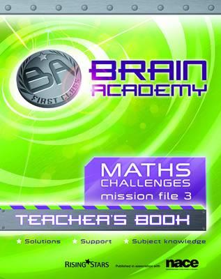 Brain Academy First Class Maths File 3 Teacher's Book by