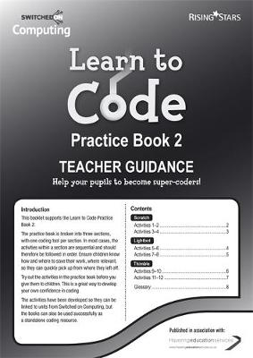 Learn to Code Teacher's Notes 2 by Claire Lotriet