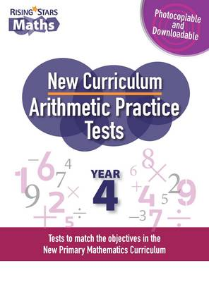 New Curriculum Arithmetic Tests Year 4 by