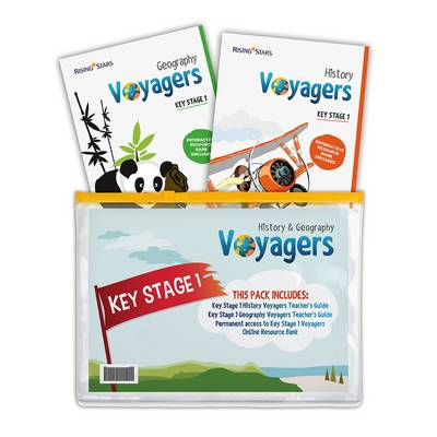 Voyagers History and Geography Key Stage 1 Pack by Hilary Morris, Stephen Scoffham