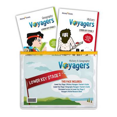 Voyagers History and Geography Lower Key Stage 2 Pack by Hilary Morris, Stephen Scoffham
