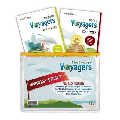 Voyagers History and Geography Upper Key Stage 2 Pack by Hilary Morris, Stephen Scoffham