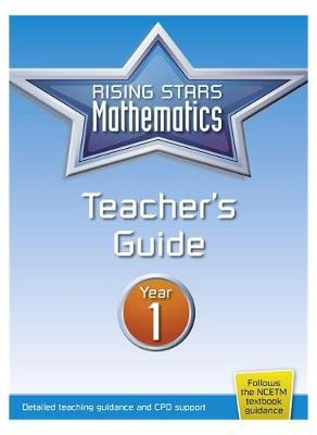 Rising Stars Mathematics Year 1 Textbook by Linda Glithro, Caroline Clissold, Heather Davis, Steph King