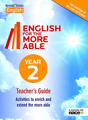 English for the More Able Year 2 by Victoria Burril