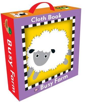 Busy Farm Cloth Book by Roger Priddy