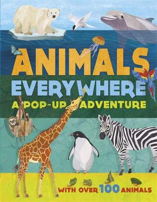 Animals Everywhere by Weldon Owen Limited (UK), Red Lemon Press, Jonathan Woodward