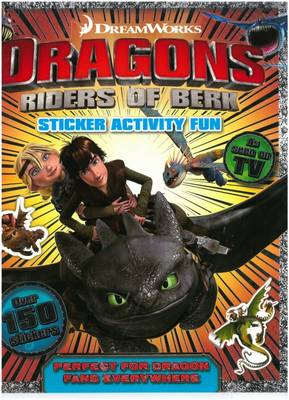 Sticker and Activity Book by Dreamworks