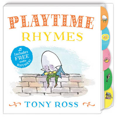 My Favourite Nursery Rhymes Board Book: Playtime Rhymes by Tony Ross
