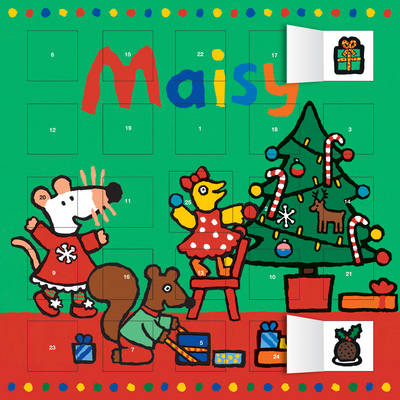 Maisy Advent Calendar (with Stickers) by
