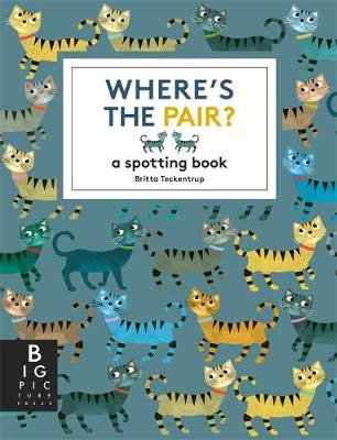 Where's the Pair? A Spotting Book by Britta Teckentrup
