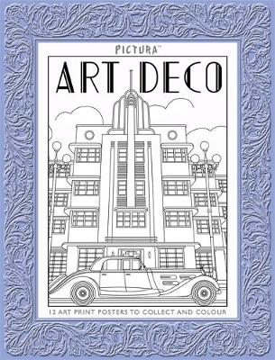 Pictura Prints: Art Deco Patterns Posters by Colin Elgie