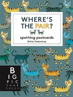 Where's the Pair? Spotting Postcards by Britta Teckentrup