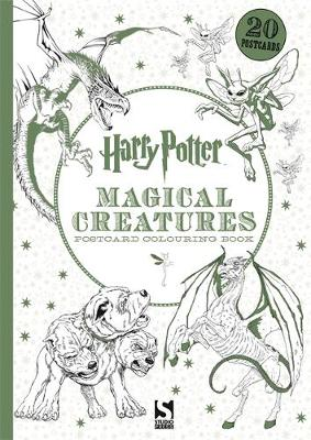 Harry Potter Magical Creatures Postcard Book 20 postcards to colour by