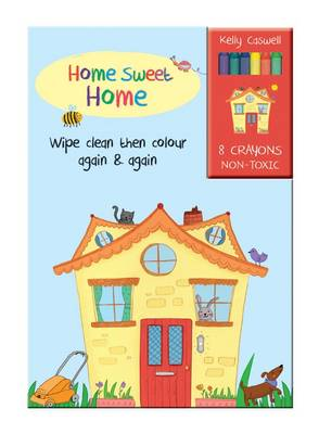 Colour Me Again and Again Book - Home Sweet Home by