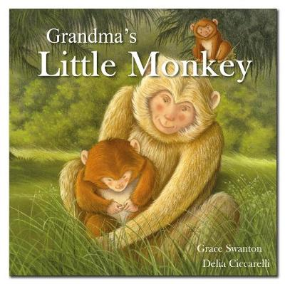Square Paperback Story Book - Grandma's Little Monkey by