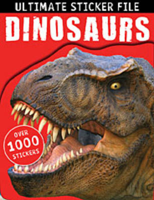 Ultimate Sticker File: Dinosaurs by Make Believe Ideas, Thomas Nelson