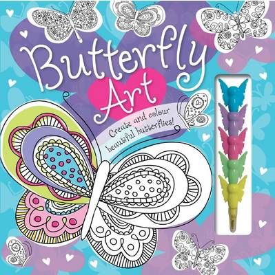 Butterfly Art by Make Believe Ideas