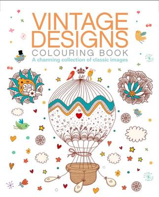 Vintage Designs Colouring Book by Arcturus Publishing