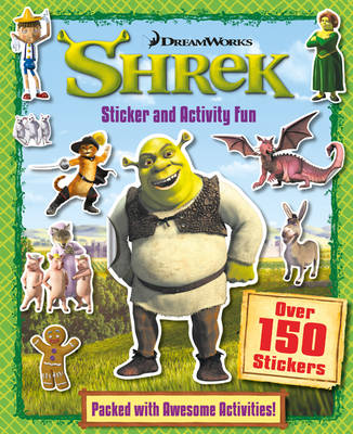 Shrek Sticker & Activity by