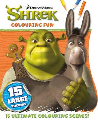 Colouring Fun - Shrek by